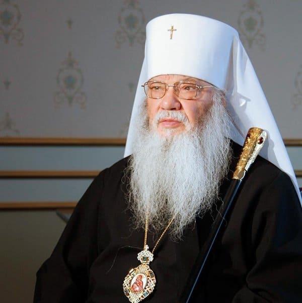 Из-за коронавируса скончался бывший глава Челябинской епархии митрополит Иов (Тывонюк)