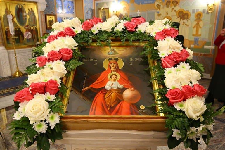 В Дивеевском монастыре освятили домовую церковь в честь Державной иконы