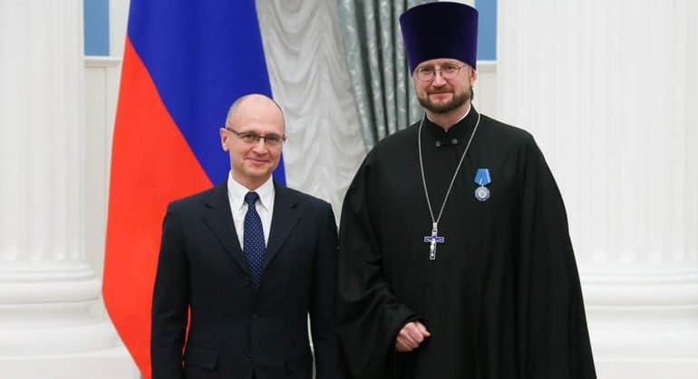 Создатель Детского хосписа протоиерей Александр Ткаченко награжден орденом Почета