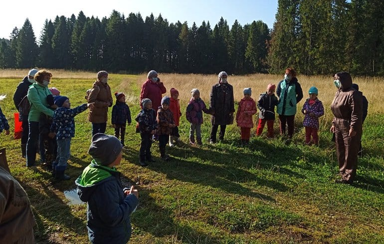 В удмуртском селе с помощью гранта детей учат уважать старшее поколение