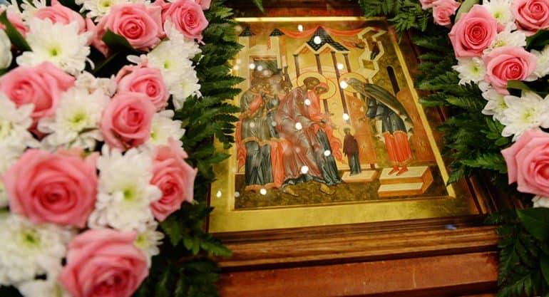 Введение во храм Пресвятой Богородицы отпразднует Церковь 4 декабря