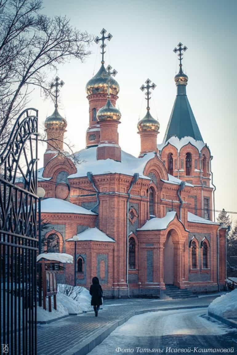 Хабаровску нужна помощь – храм, с которого начинался город, остался без крыши