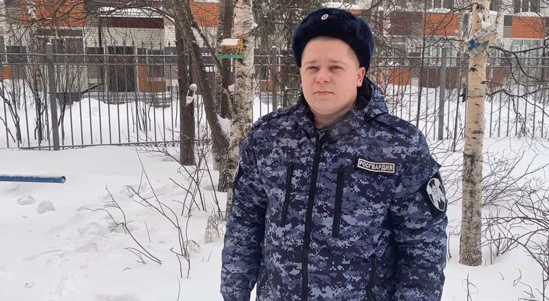 В Сургуте росгвардеец спас мужчину от приступа эпилепсии и задержал грабителя