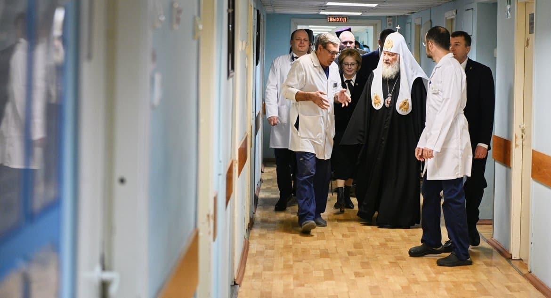 Патриарх Кирилл поспособствовал покупке для больницы более 10 дорогих медаппаратов