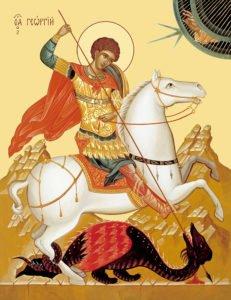 47 известных святых среди воинов
