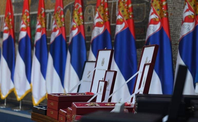 Патриарх Кирилл удостоен ордена Республики Сербия