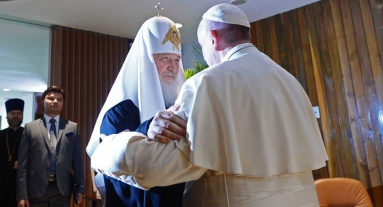 Митрополит Иларион рассказал, что стоит в центре диалога Русской Церкви с католиками
