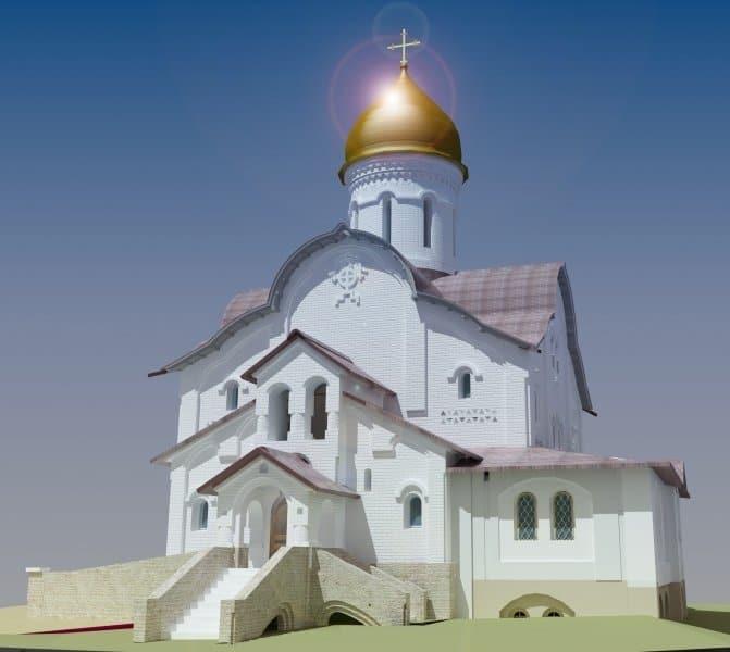 Весной 2021-го возведут под купола единственный храм Москвы по «Программе 200» в честь Марии Магдалины