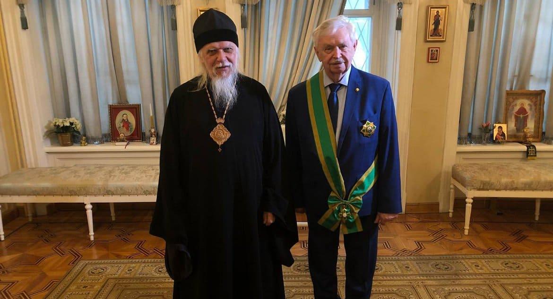 Писатель и общественник Альберт Лиханов награжден церковным орденом