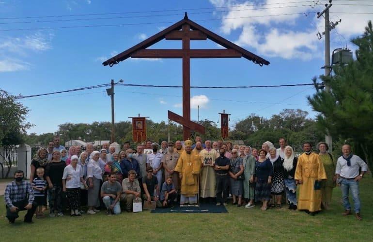 В Аргентине установили самый большой в Южной Америке православный поклонный крест