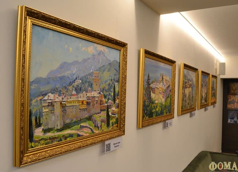 В Киеве появился «афонский» уголок – уникальный музей-галерея