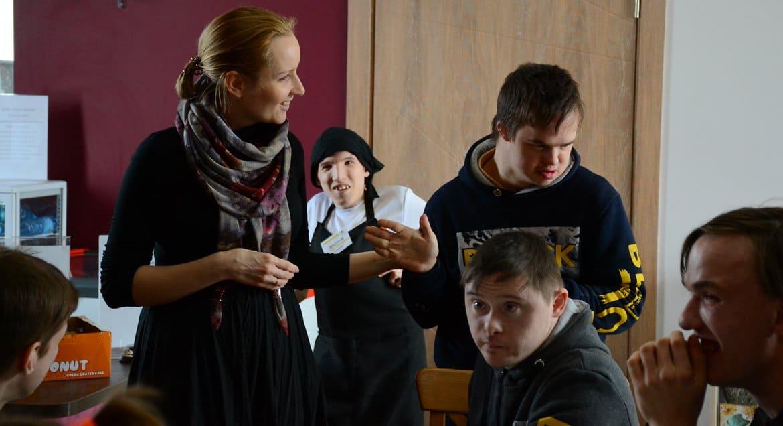 В арт-поместье «Новые берега» открыли пансион для детей и подростков с инвалидностью