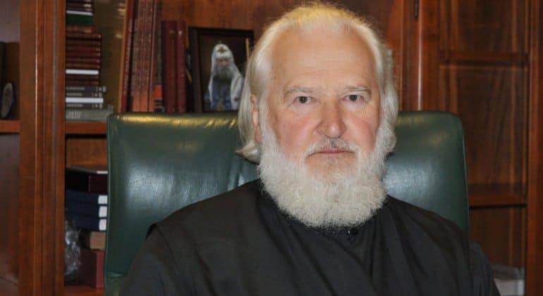 Ректор ПСТГУ протоиерей Владимир Воробьев отмечает 80-летие
