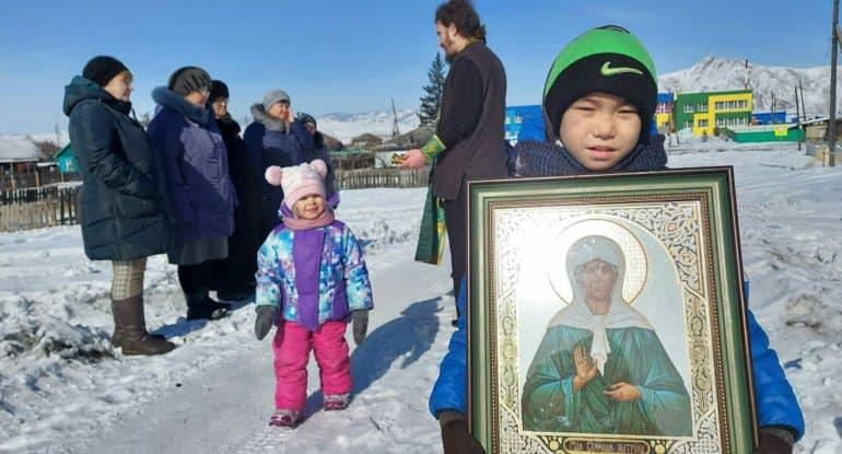 В тувинском селе в честь блаженной Матроны Московской установят храм-юрту