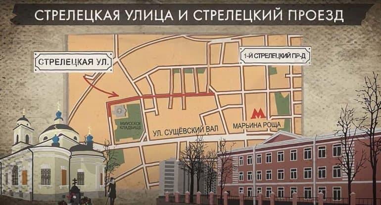Стрелецкая улица — почему она так называется?