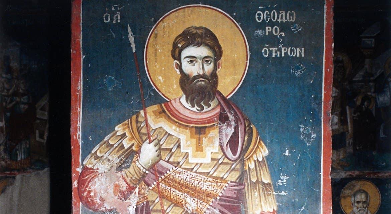 Православные вспоминают великомученика Феодора Тирона