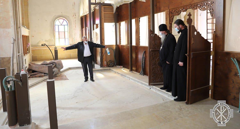 Русская Церковь помогает Иерусалимскому Патриархату построить храм на севере Израиля