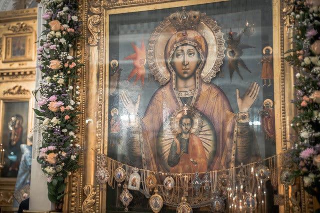 Царскосельская икона Богородицы может оказаться не копией, а чудотворным оригиналом