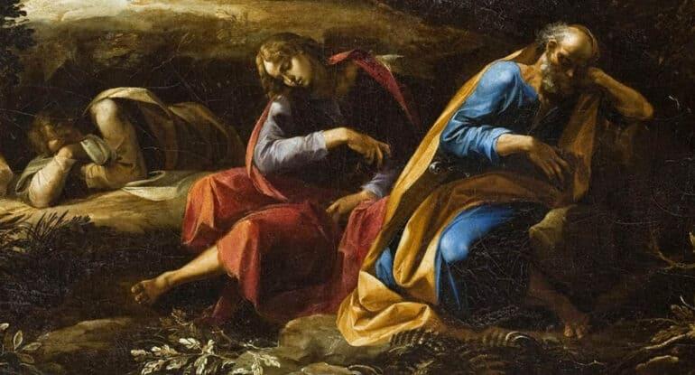 Откуда мы знаем, о чем молился Христос в Гефсиманском саду, если апостолы спали?