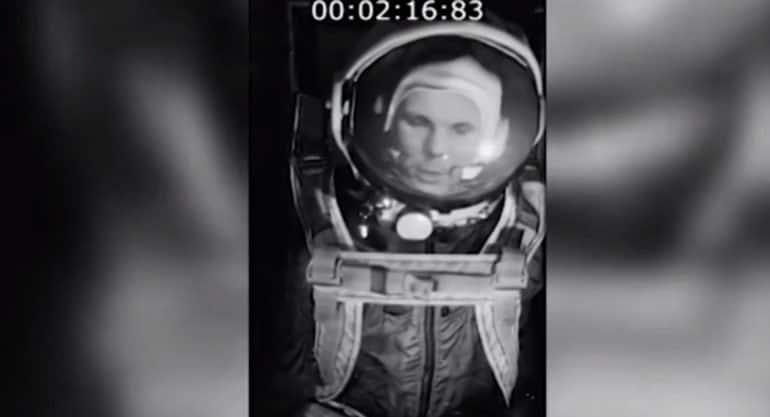 Найдена ранее утерянная видеозапись полета Юрия Гагарина в космос