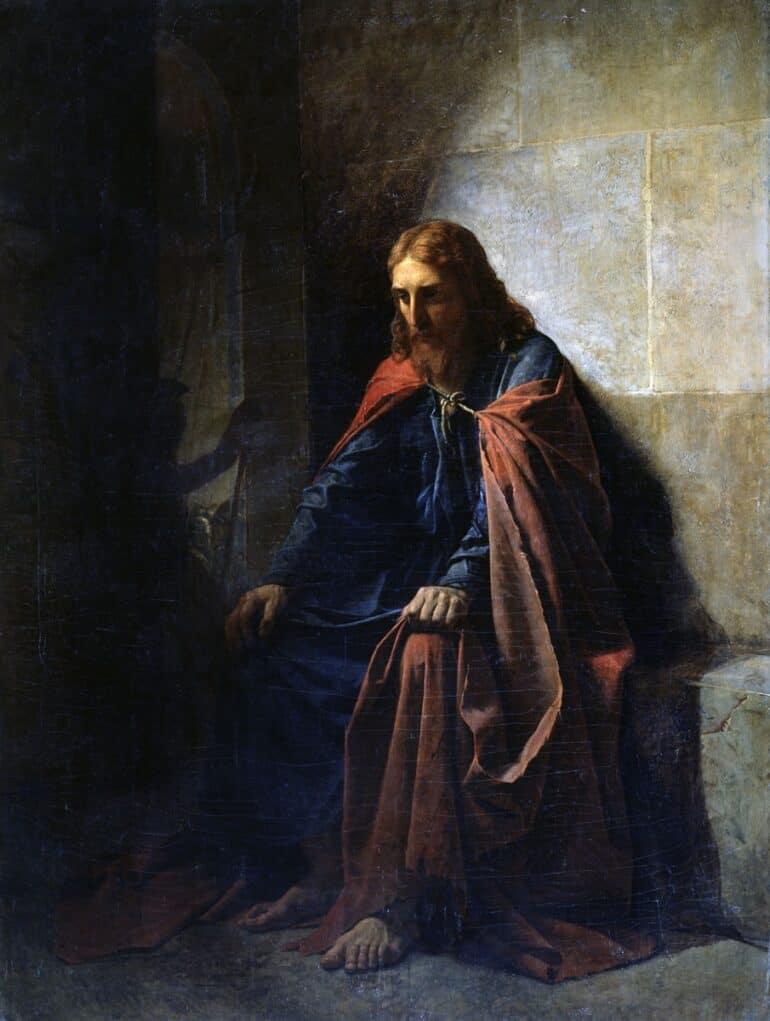 Последняя темница Христа: здесь Христос был заключен после суда Пилата