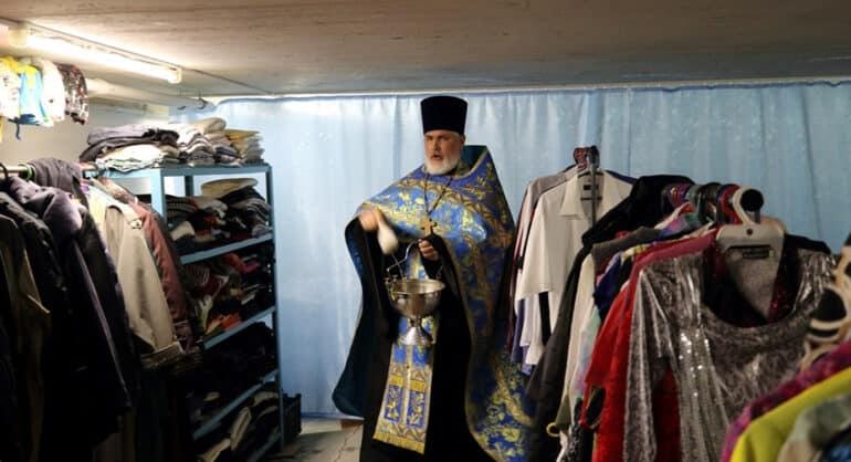 За месяц Церковь открыла шесть новых центров гуманитарной помощи