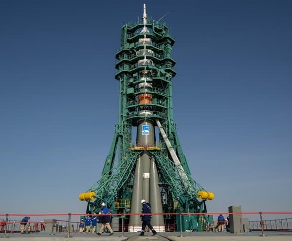 На Байконуре освятили пилотируемый космический корабль «Ю.А. Гагарин»