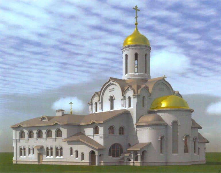 На севере Москвы начали строить храм в честь Ксении Петербургской