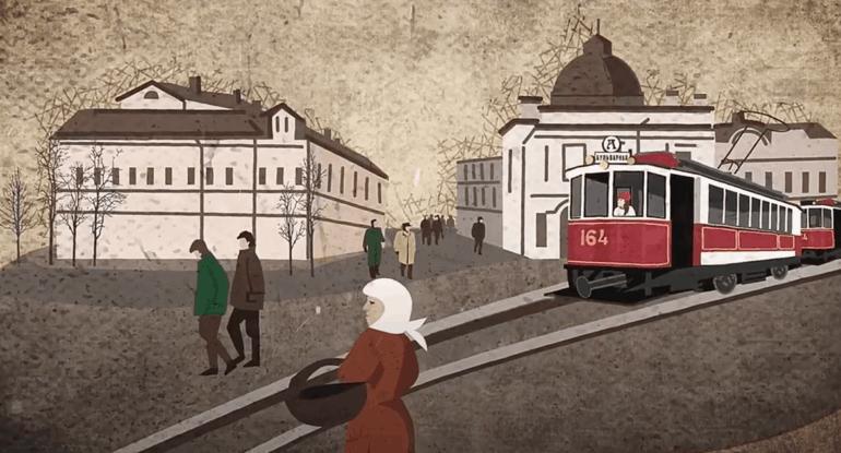 Трамвай «Аннушка»— история маршрута за1минуту