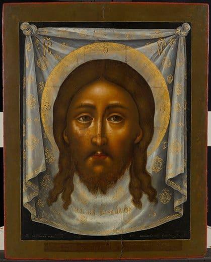 Как появилась иконография изображения Христа  «Спас Нерукотворный»?