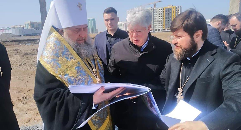 В столице Казахстана начали строить храм в честь Александра Невского