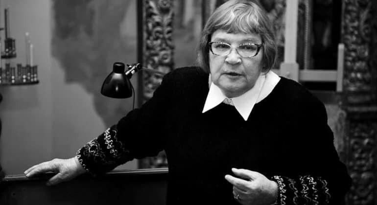 Умерла художник-реставратор высшей категории Галина Клокова