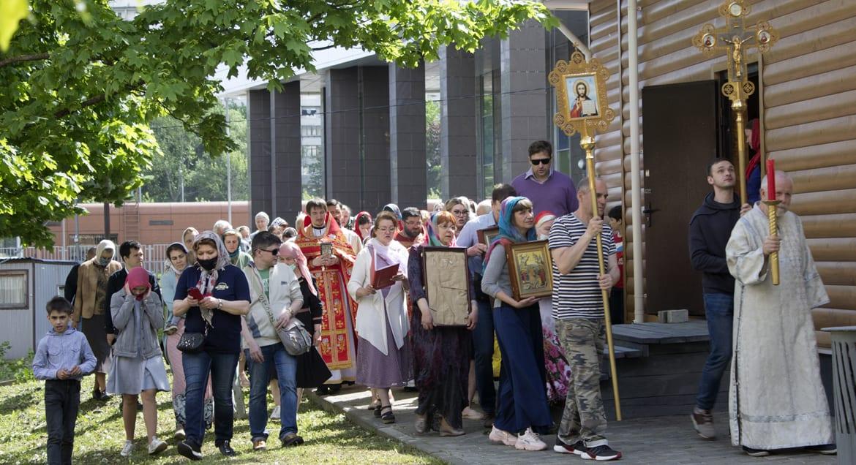 Приход в Южном Чертанове отметил фестивалем день рождения царя-страстотерпца Николая II