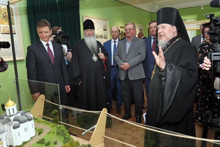 На малой родине Александра Невского открыли музей в его честь