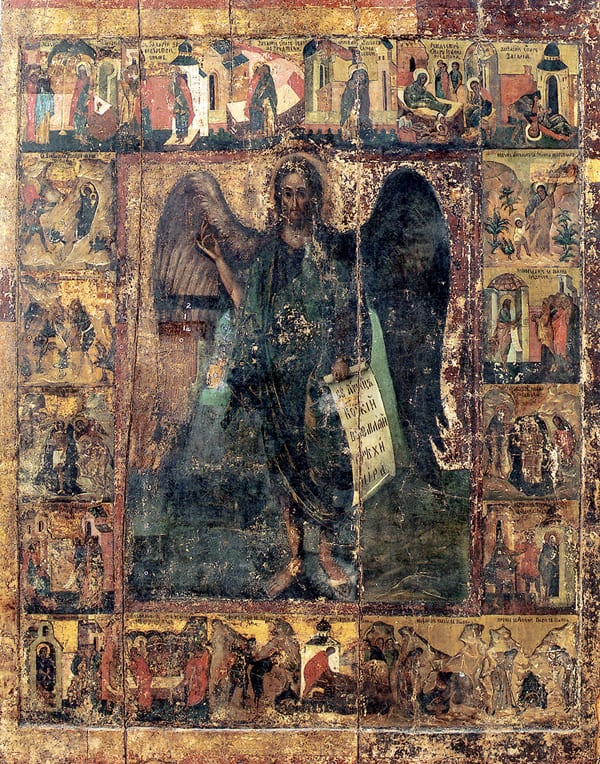 Завершилась более чем полувековая драматическая реставрация иконы Иоанна Предтечи XVI века