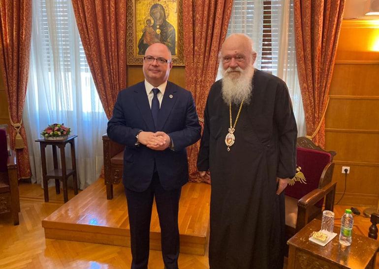 Архиепископ Афинский Иероним предложил начать восстанавливать отношения с Русской Церковью путем молодежных контактов