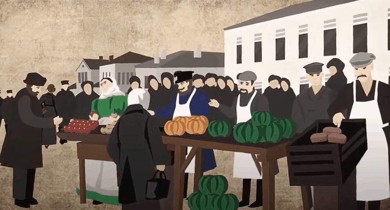 Тишинка, Хитровка, Сухарёвка: московские рынки-«толкучки»