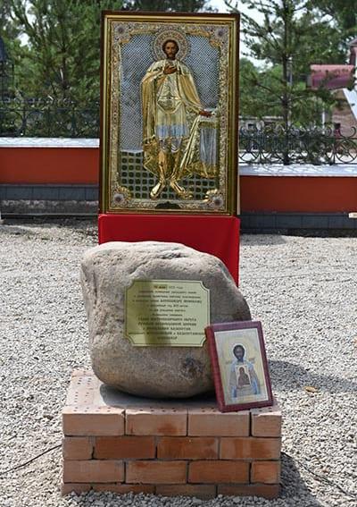 В Алма-Ате заложили памятник святому Александру Невскому в виде батыра