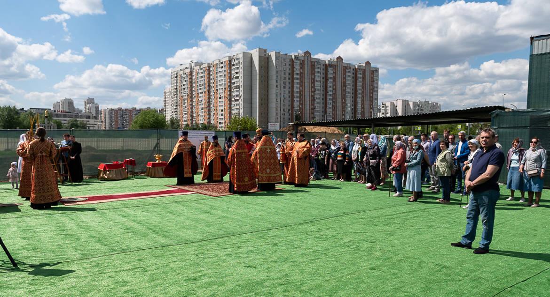 У православных жителей района Марьино будет свой храм святых Петра и Февронии
