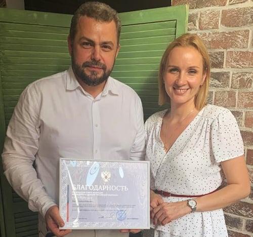 Главврач церковной больницы Алексей Заров удостоен благодарности от главы Совета Федерации