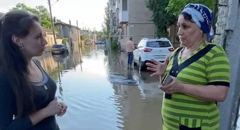 Церковь помогает сотрудникам МЧС и пострадавшим в зоне подтопления в Крыму