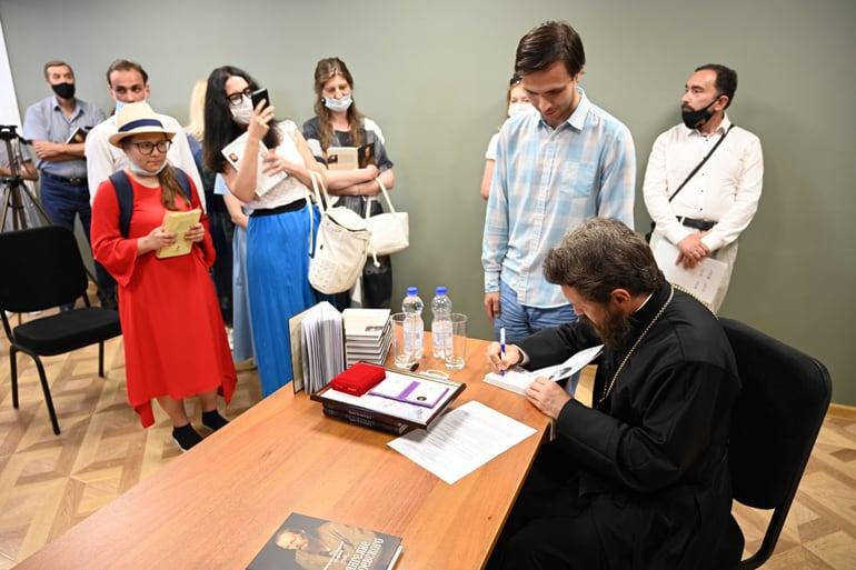 Митрополит Волоколамский Иларион презентовал книгу «Евангелие Достоевского»