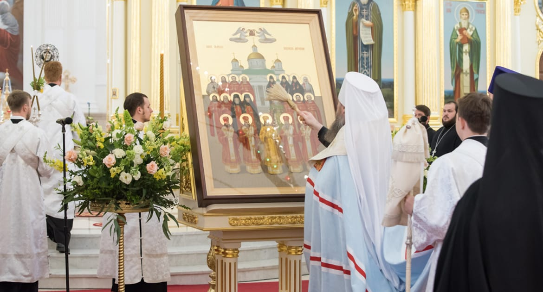 Написана первая икона Собора святых Пензенской митрополии