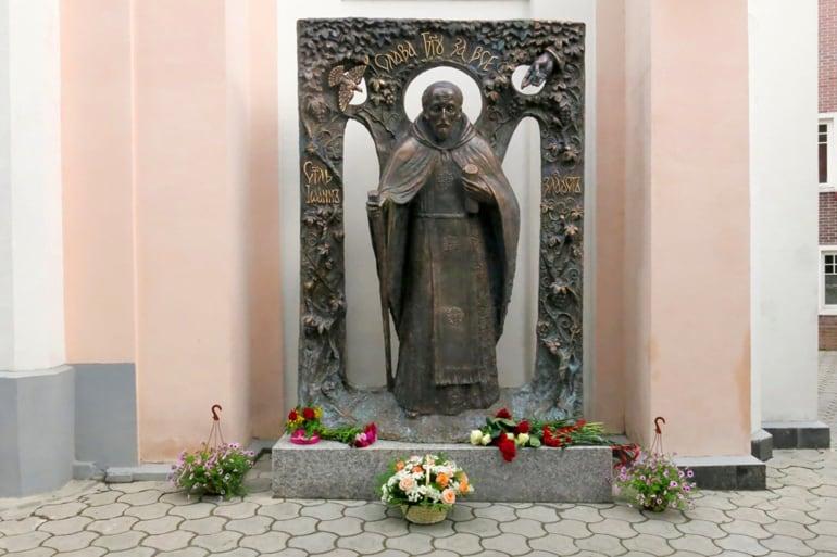 В Ялте открыли памятник святителю Иоанну Златоусту