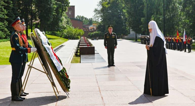 В Великую Отечественную произошло удивительное единение нашего народа, – патриарх Кирилл