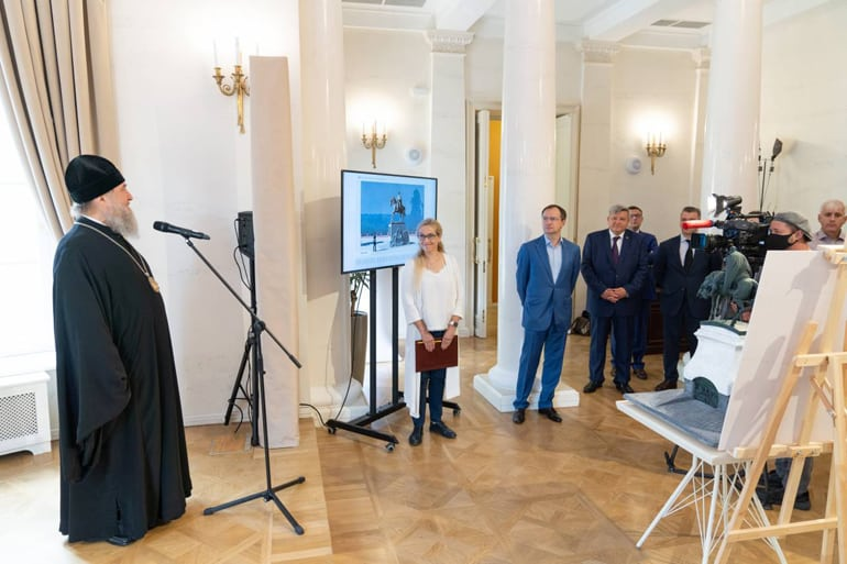 Представлены проекты первого памятника Александру Невскому в Центральной Азии