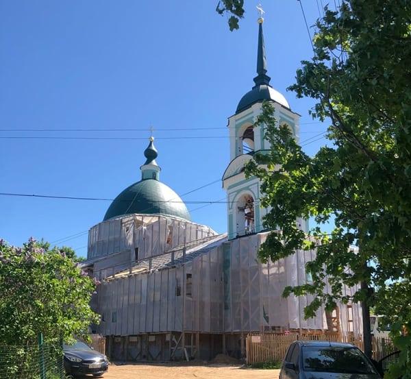 При реставрации новгородского «суворовского» храма находят исторические раритеты