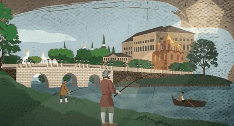 Неглинка— третья позначимости река Москвы