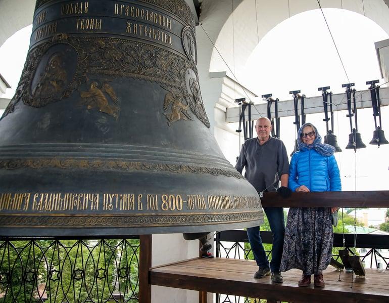 В Нижегородском кремле воссоздали соборную колокольню XVII века