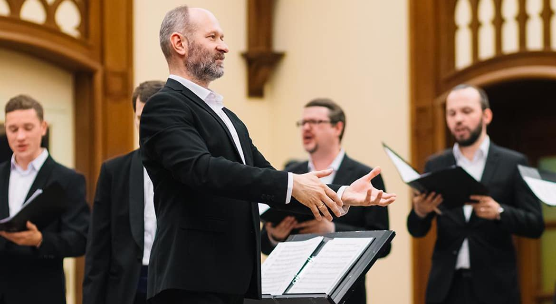 Мужской хор Logos исполнит духовные песнопения в Московском доме музыки